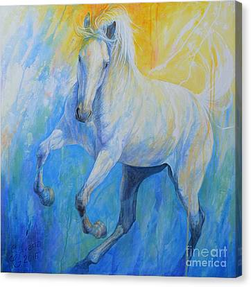 Playful Canvas Print by Silvana Gabudean
