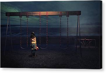 Playground Canvas Print by Fang Tong