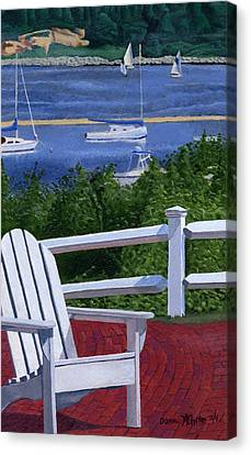 Pleasant Bay Cape Cod Canvas Print by Dominic White