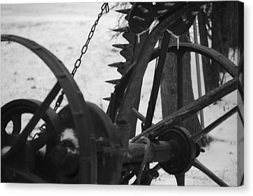 Plow Canvas Print by Peter  McIntosh
