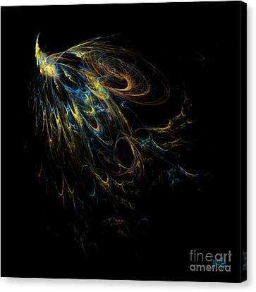 Plumage Canvas Print by Alina Davis