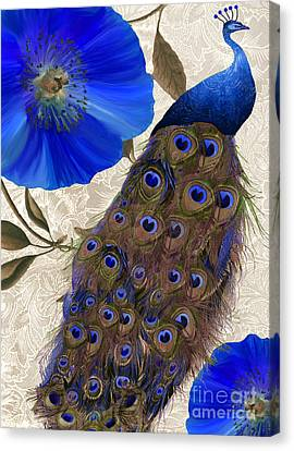 Plumage Canvas Print by Mindy Sommers