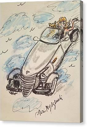Plymouth Prowler Canvas Print by Geraldine Myszenski