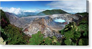 Poas Volcano Canvas Print by Kryssia Campos