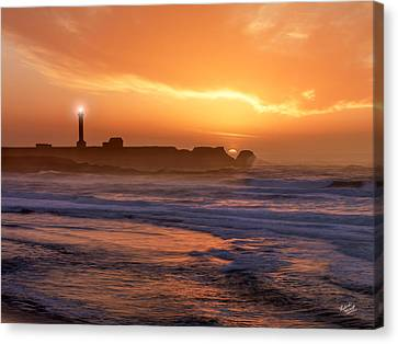 Point Arena Lighthouse Canvas Print by Leland D Howard