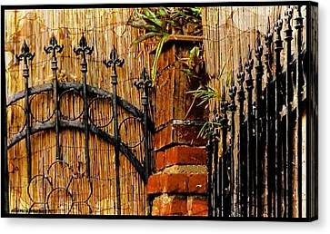 Points Well Made Canvas Print by Ellen Cannon