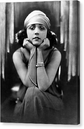 Pola Negri, Ca. Early 1920s Canvas Print by Everett