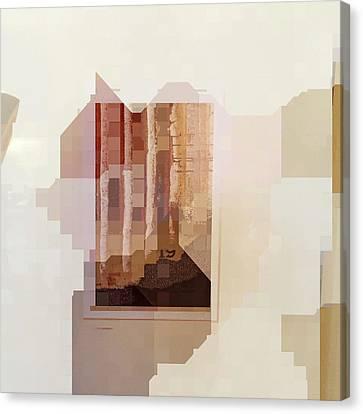 Polaroids Abstract 1 Canvas Print by Carol Leigh