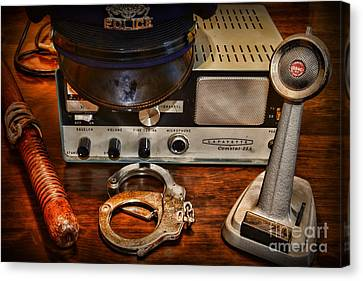 Police - The Police Dispatcher Canvas Print by Paul Ward