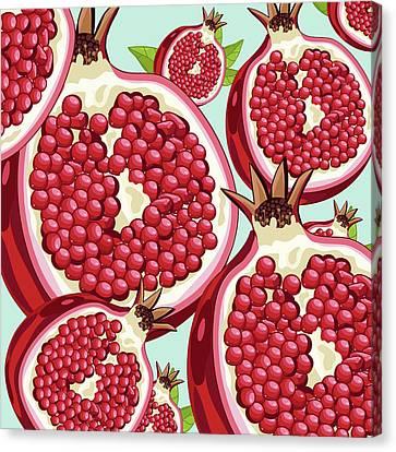 Pomegranate   Canvas Print by Mark Ashkenazi