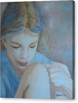 Pondering Canvas Print by Jenny Armitage