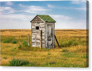 Pendroy Outhouse Canvas Print by Todd Klassy