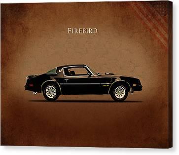 Pontiac Firebird Canvas Print by Mark Rogan