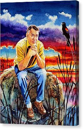 Pooka Hill 2 Canvas Print by Hanne Lore Koehler