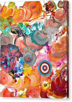 Popfluid 6 Canvas Print by Sumit Mehndiratta