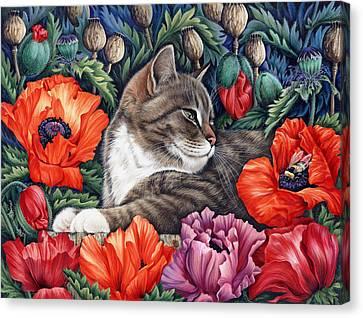 Poppies Canvas Print by Irina Garmashova-Cawton