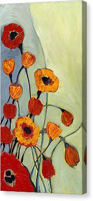 Poppies Canvas Print by Jennifer Lommers