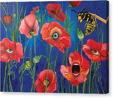 Poppies Canvas Print by John Alekseev
