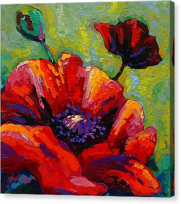 Poppy I Canvas Print by Marion Rose