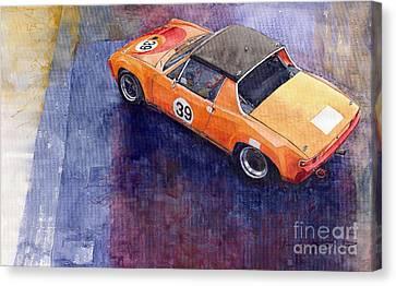 Porsche 914 Gt Canvas Print by Yuriy  Shevchuk