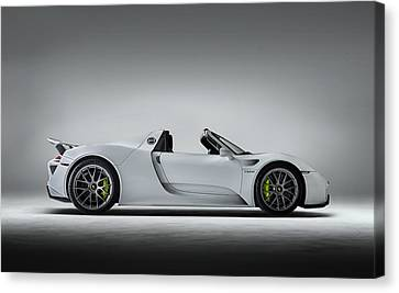 Porsche 918 Spyder Canvas Print by Douglas Pittman