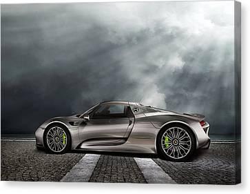 Porsche Spyder V2 Canvas Print by Peter Chilelli
