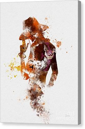 Portgas D. Ace Canvas Print by Rebecca Jenkins