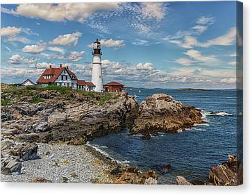 Portland Head Lighthouse Canvas Print by Brian MacLean