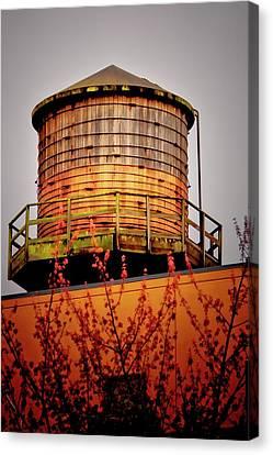 Portland Water Tower IIi Canvas Print by Albert Seger