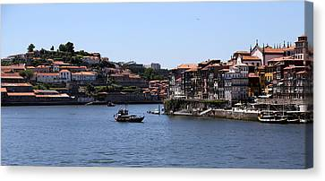 Porto 14 Canvas Print by Andrew Fare