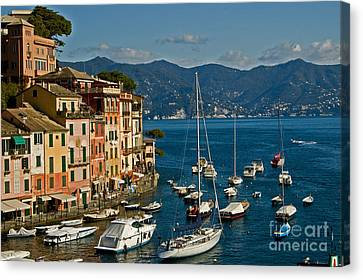 Portofino Italy Canvas Print by Allan Einhorn
