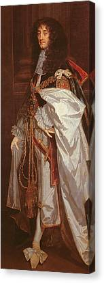 Portrait Of Prince Rupert Canvas Print by Sir Peter Lely