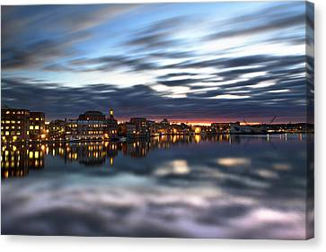 Portsmouth Reflections Canvas Print by Eric Gendron