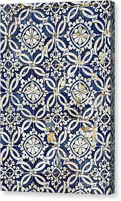 Portuguese Glazed Tiles Canvas Print by Gaspar Avila