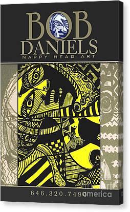 Poster Art Canvas Print by Robert Daniels