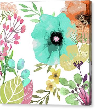 Posy II Canvas Print by Mindy Sommers