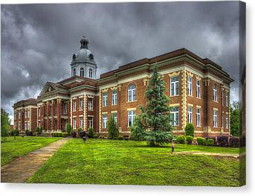 Power House 2 Putnam County Court House Canvas Print by Reid Callaway