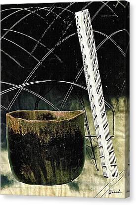 Power Lines Canvas Print by Sarah Loft