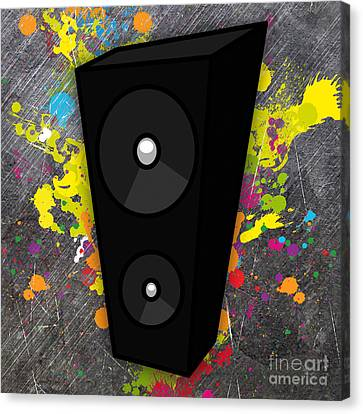 Power Of Music Canvas Print by Marvin Blaine