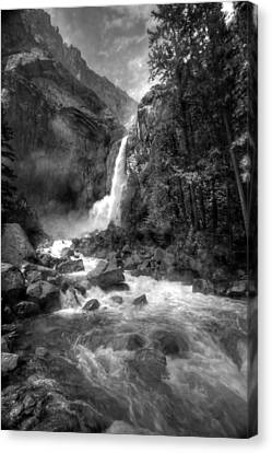 Power Of Water Canvas Print by Edward Kreis