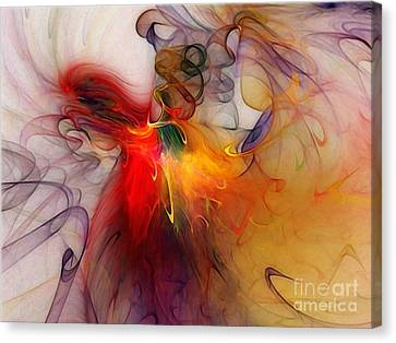 Powers Of Expression Canvas Print by Karin Kuhlmann