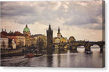 Prague 1 Canvas Print by Heather Applegate
