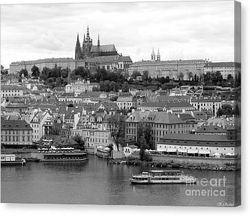 Prague Castle Canvas Print by Keiko Richter