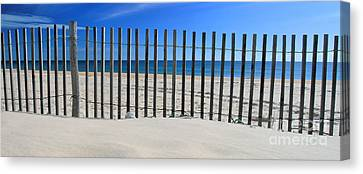 Praia Do Cabeco - Panoramic Canvas Print by Carl Whitfield