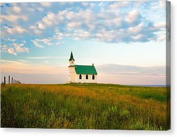 Prairie Parish Canvas Print by Todd Klassy