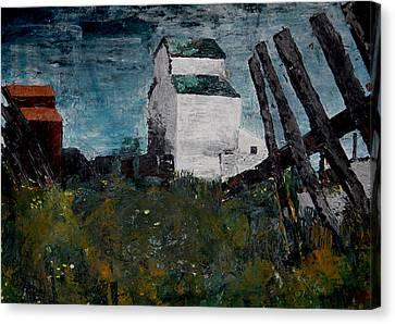 Prairie Scene Canvas Print by John Turner