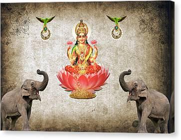 Praise The Lord Series 6 Canvas Print by Sumit Mehndiratta