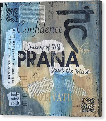 Prana Canvas Print by Debbie DeWitt