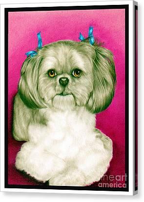 Precious Girl Canvas Print by Sheryl Unwin