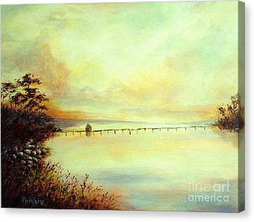 Prelude Canvas Print by Madeleine Holzberg
